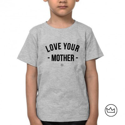 .mommy's boy. kids tshirt