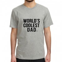 .world's coolest dad. tshirt